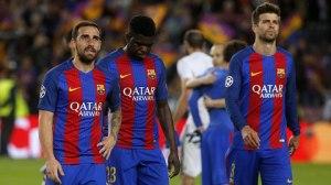 Barca mặc định là một đội bóng không giỏi phòng ngự